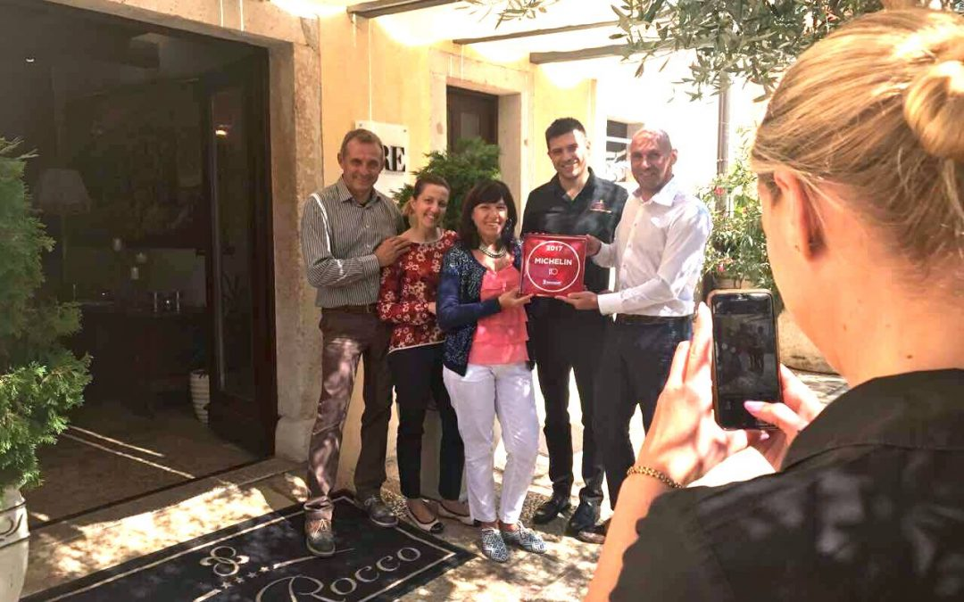 San Rocco awarded with Michelin Plate – a symbol of quality cuisine