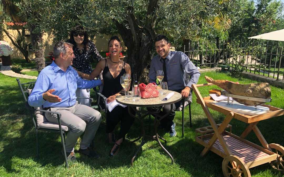 Eva LaRue, the new ambassador of Stories Croatia, visited San Rocco and Brtonigla