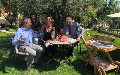 Eva LaRue, the new ambassador of Stories Croatia, visited San Rocco and Brtonigla