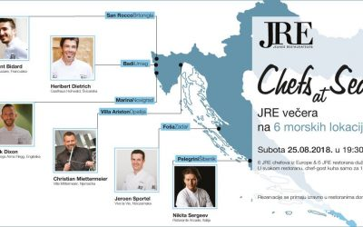 """Chefs at Sea"" – a must visit JRE gastro event!"