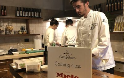 Let's cook together: Miele & San Rocco