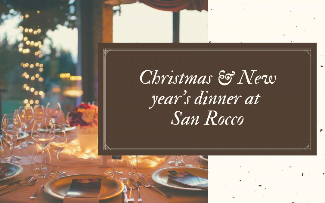 Ekstravagantni božićni i novogodišnji domjenak u San Rocco hotelu