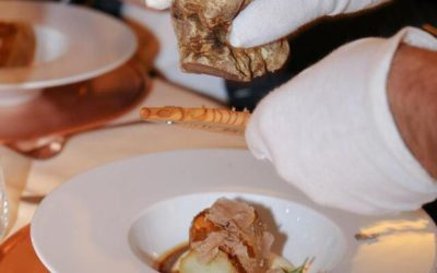 Delicious flavors of white truffles at the San Rocco Restaurant